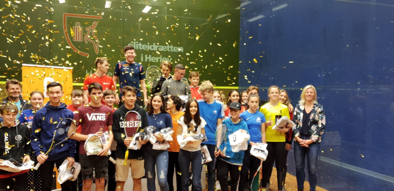 """Золото и серебро выбороли украинские юниоры на турнире """"HEAD Danish Junior Open 2019"""""""