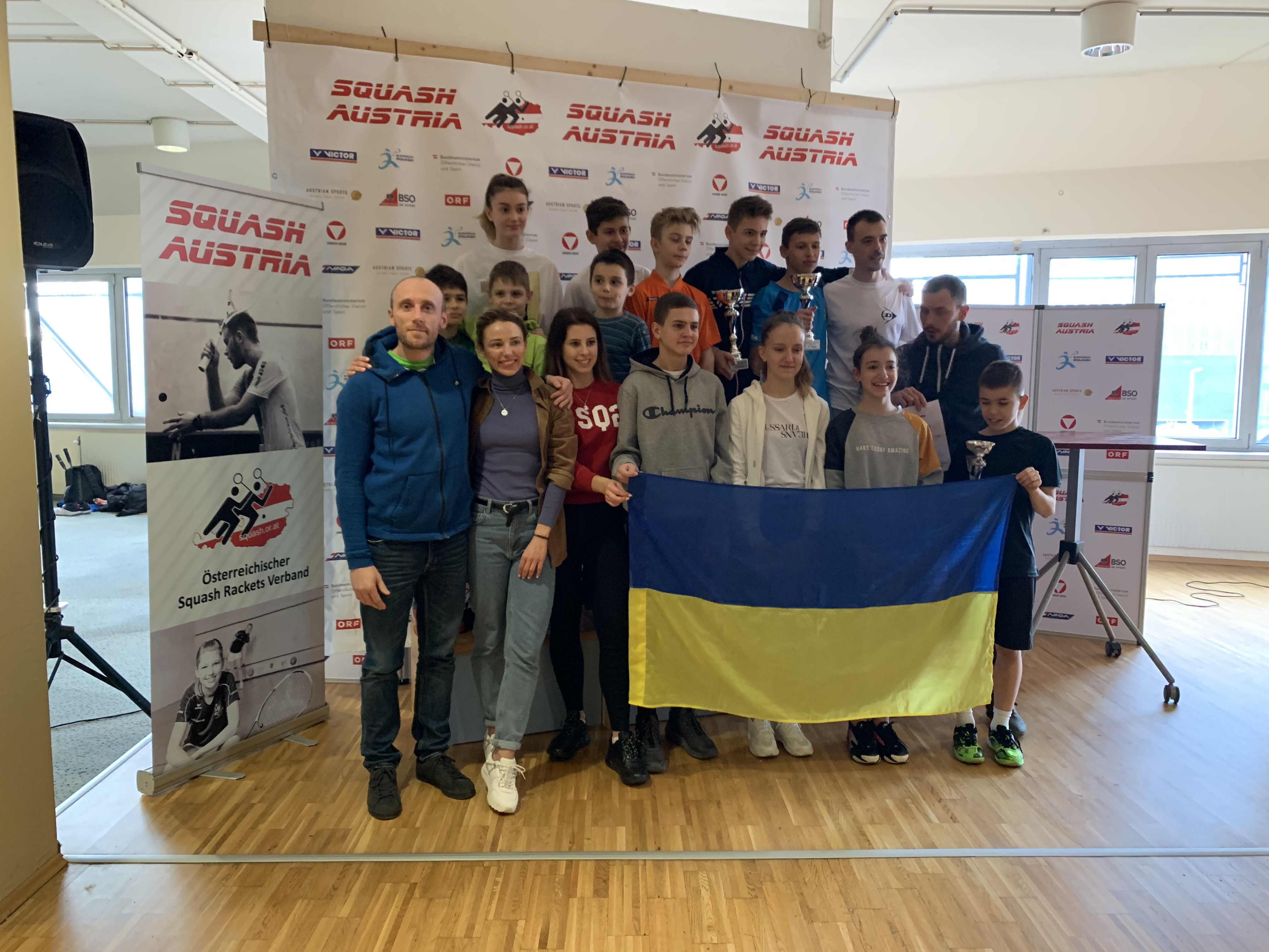 Austrian Junior Open 2020: Ukrainian juniors return home with medals and first place overall!