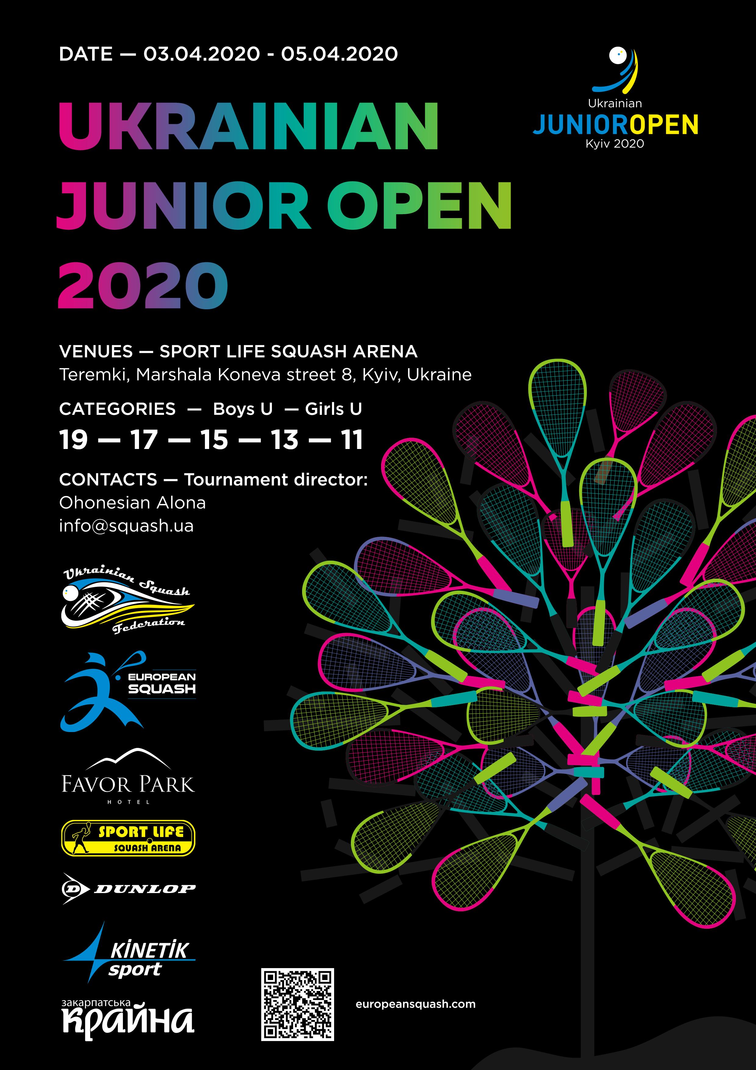 Ukrainian Junior Open 2020