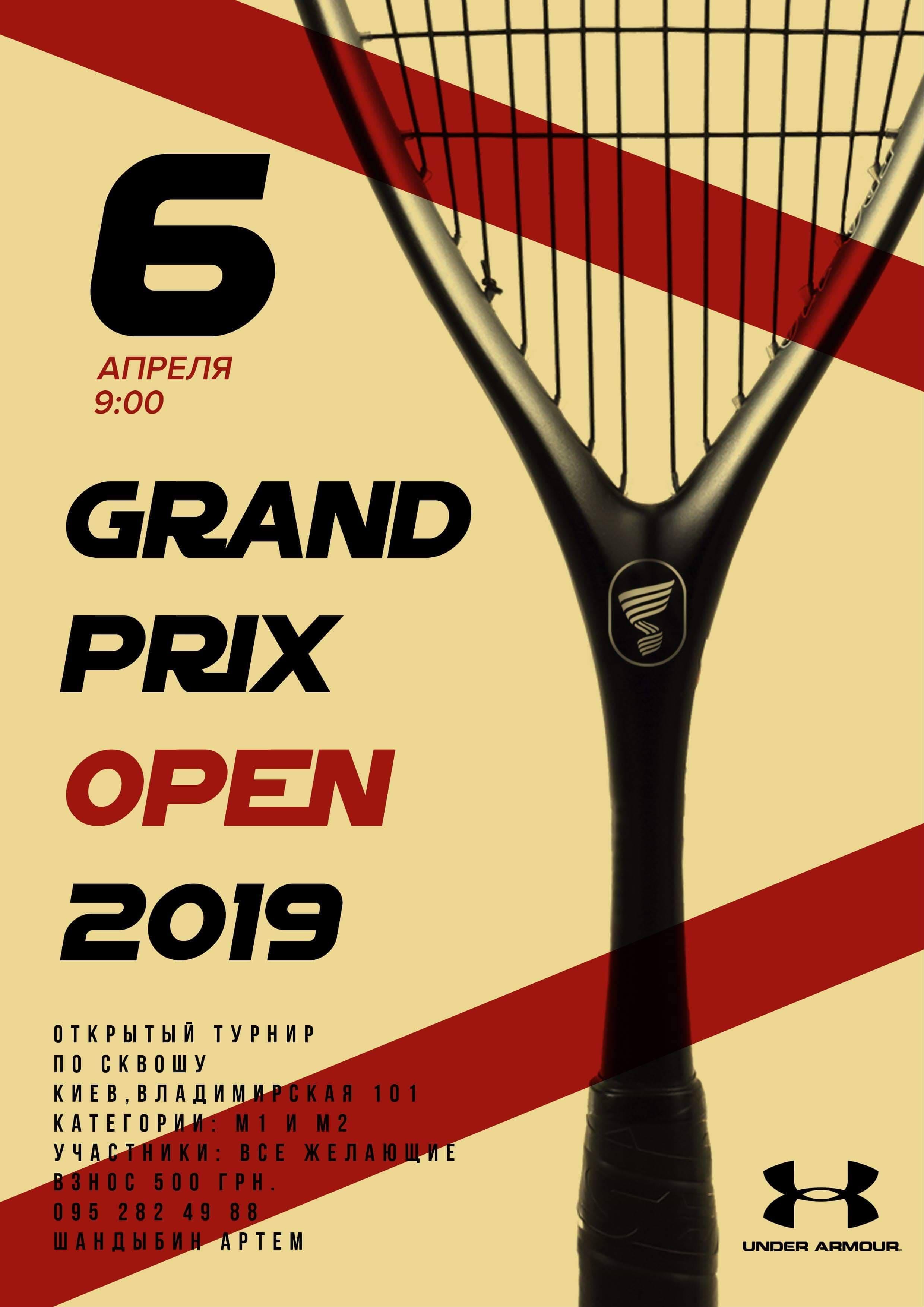 Grand Prix Open 2019