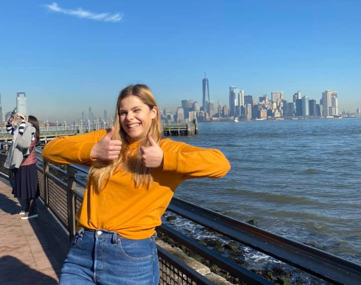 Squash player Julia Zhukovets about studying at the American Yale University