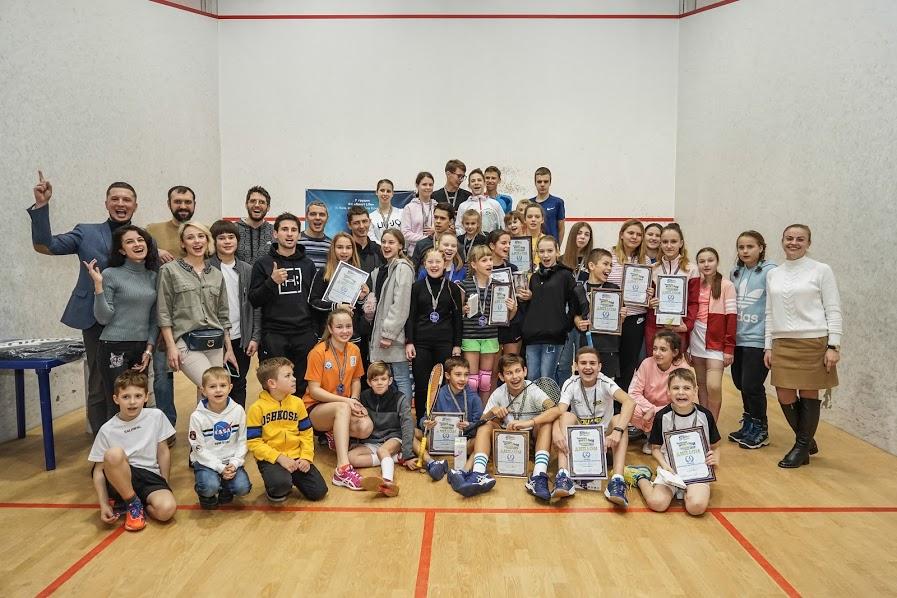 Чемпионат Украины по сквошу среди юниоров 2019: итоги турнира!
