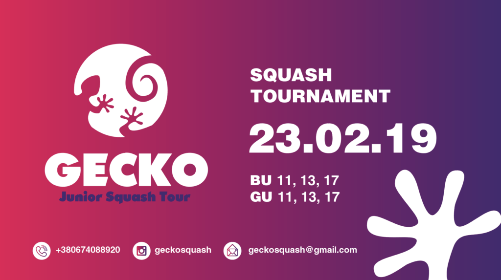 Gecko Junior Squash Tour