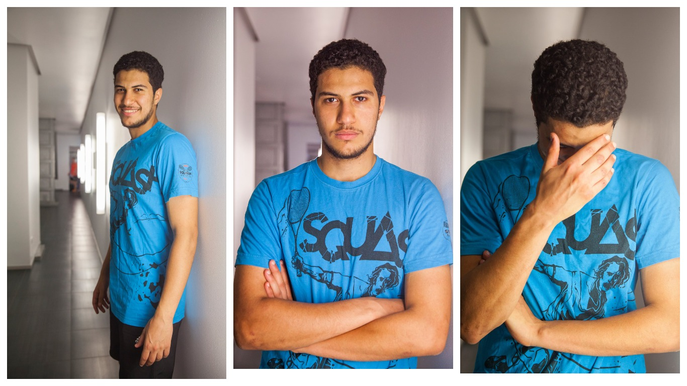 «Сквош – це моє життя», - Ахмед Мохамед