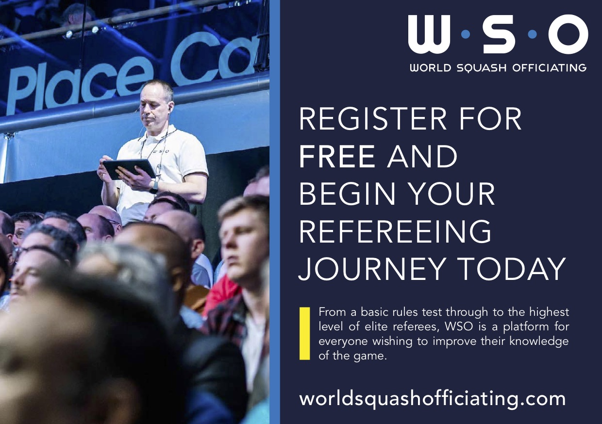 World Squash Officiating: an online judge training site