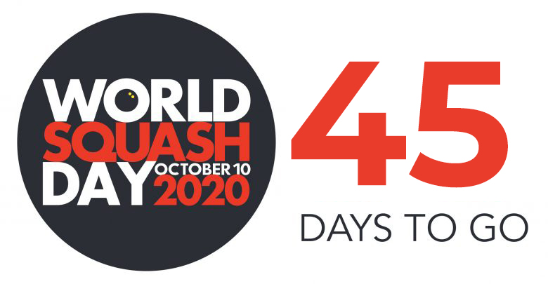 45 Days to Go Until World Squash Day​