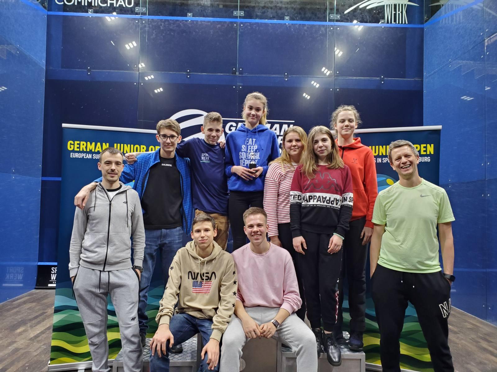 German Junior Open 2020: Христина Бегеба взяла бронзу на турнірі супер серії