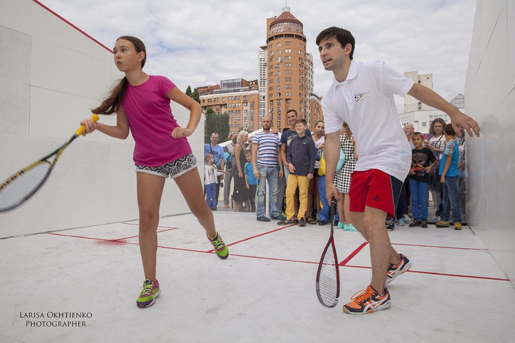 Празднование Европейской недели спорта в Украине, начало 8 сентября