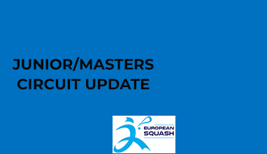 Juniors and Masters circuit update