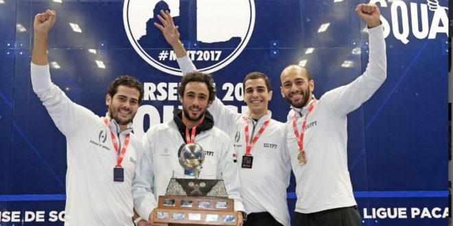 Египет завоевал титул чемпиона мира в Марселе